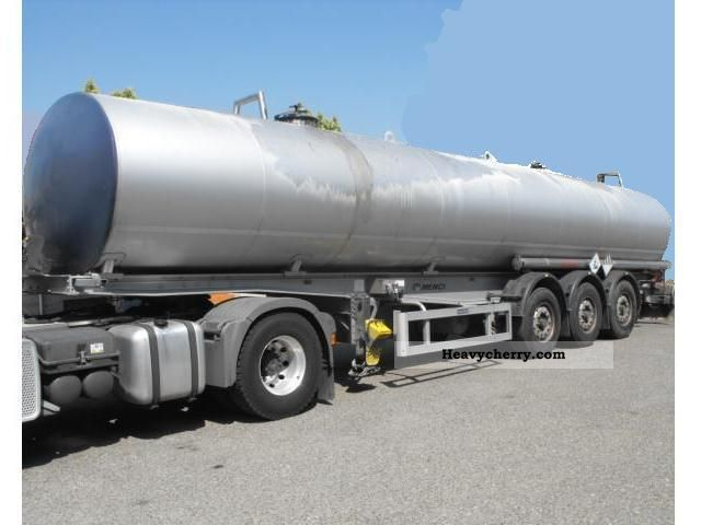 2006 Menci  INOX BITUM 300 * C BPW + ADR + + LIFT ABS +1 ^ = ALLU 35.000L Semi-trailer Tank body photo
