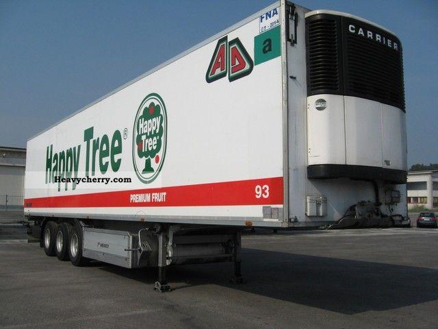 1996 Menci  Menci Semi-trailer Deep-freeze transporter photo