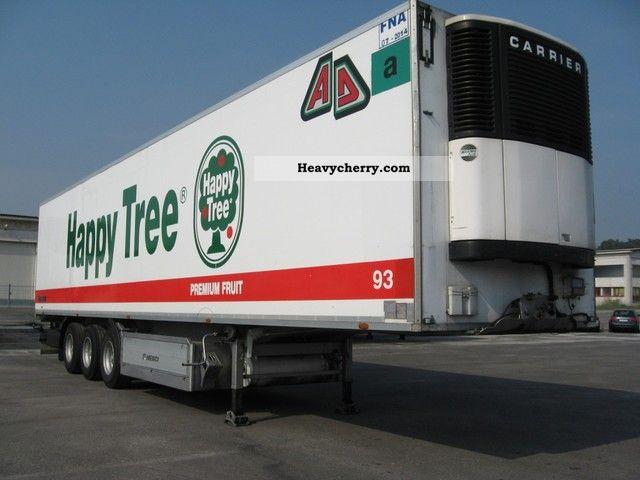 1997 Menci  Menci Semi-trailer Deep-freeze transporter photo
