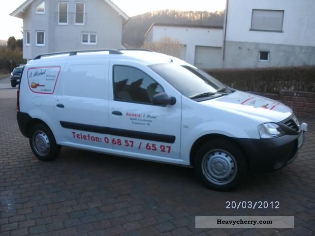 2011 Dacia  Logan Express Van or truck up to 7.5t Traffic construction photo