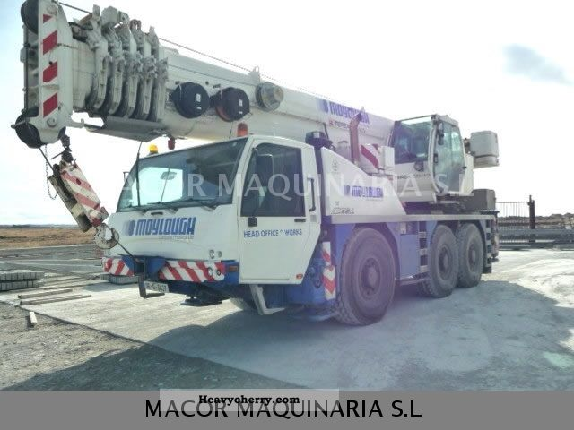 Terex Demag Ac55l 2012 Construction Crane Photo And Specs