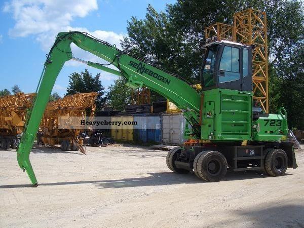 2009 Sennebogen  723 M-HD Construction machine Other construction vehicles photo