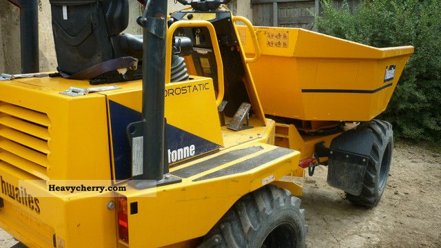 2007 Thwaites  2.3 Hydrostatic Construction machine Other construction vehicles photo