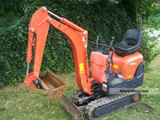 2007 Kubota  K 008-3 Construction machine Mini/Kompact-digger photo