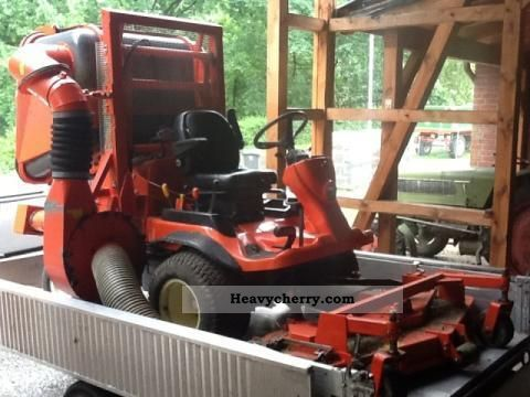 2008 Kubota  F 3680 Agricultural vehicle Tractor photo
