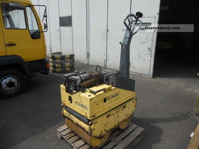 1995 BOMAG  BW 62 H Construction machine Rollers photo
