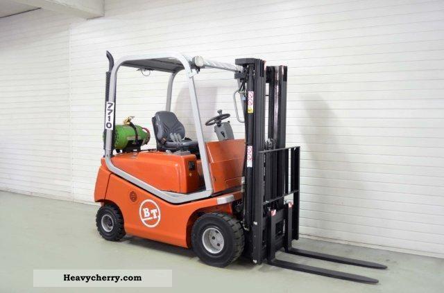 2004 BT  CBG 20, SS TRIPLEX, 4522Bts ONLY! Forklift truck Front-mounted forklift truck photo