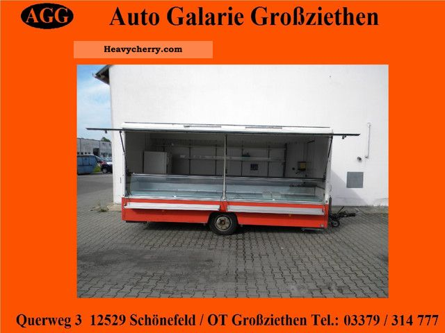 1983 Borco-Hohns  Borco-Höhns sales trailer with cooling Trailer Traffic construction photo