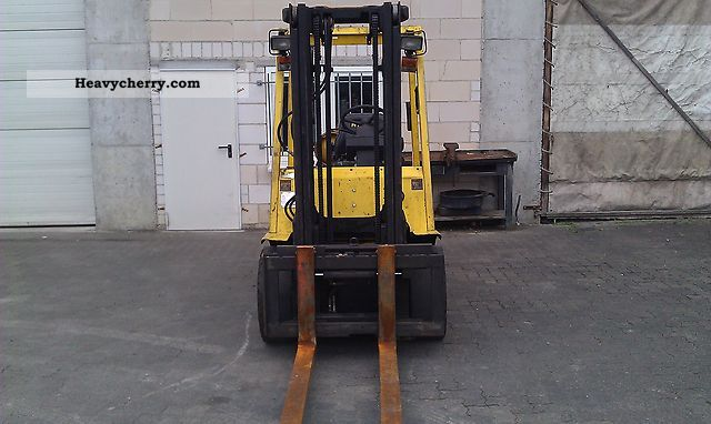 1999 Hyster  * H * 3.00 * XMX Sideshift * etc. * Forklift truck Front-mounted forklift truck photo