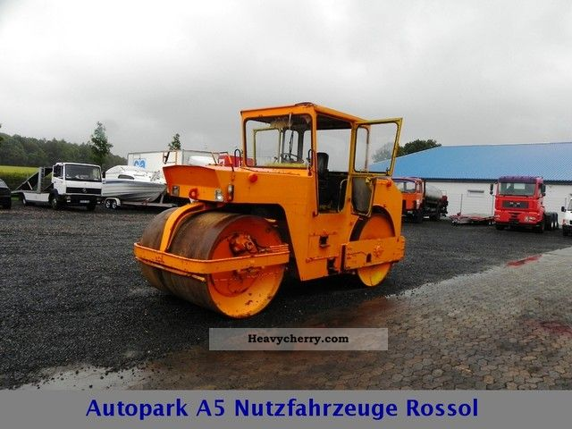 1981 ABG  128 tandem roller 10.2 t 51kW Construction machine Rollers photo