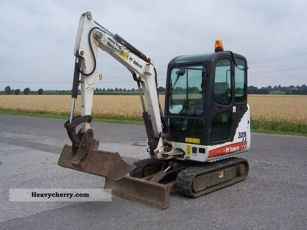 2007 Bobcat  328g Construction machine Construction Equipment photo