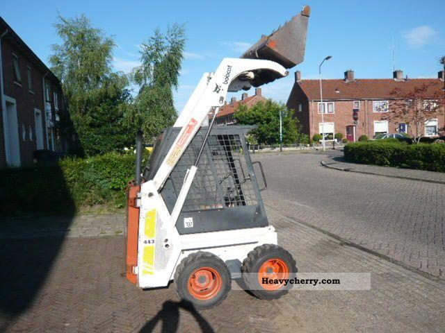 1993 Bobcat  443 Construction machine Wheeled loader photo