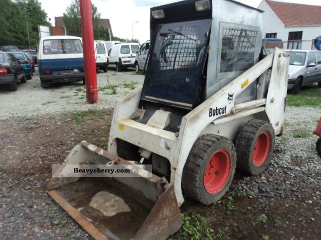 1990 Bobcat  721 DEUTZ air-cooled + Heating, MANY NEW PARTS Construction machine Mini/Kompact-digger photo