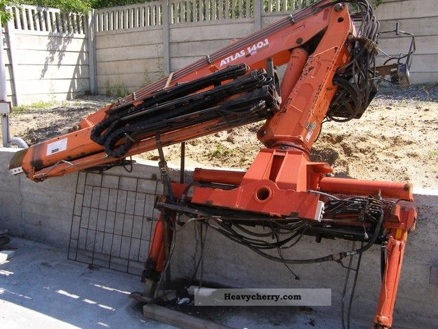 1994 Atlas  140.1 10.7 m Construction machine Construction Equipment photo