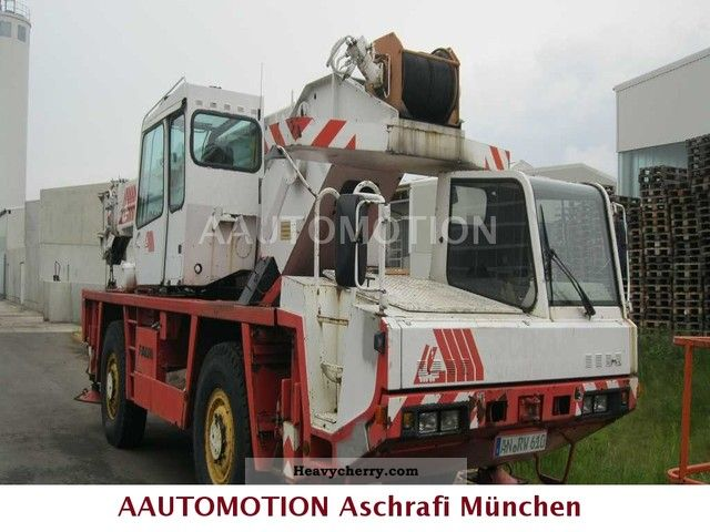 1990 Faun  Only 70 000 Km RTF 30-2 13 000 hours Exp.P. € 38,000 Truck over 7.5t Truck-mounted crane photo