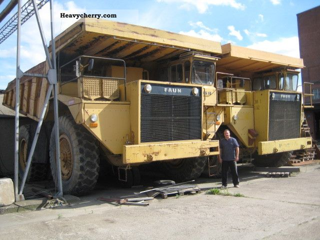 1984 Faun  K85.8 Construction machine Other construction vehicles photo