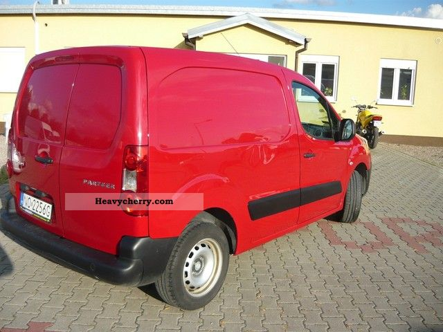 2011 Peugeot  PARTNER 1.6 HDI / 90KM/KLIMA/2010 Van or truck up to 7.5t Estate - minibus up to 9 seats photo