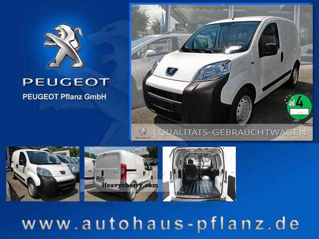 2012 Peugeot  Bipper 1.3 HDi 75 FAP base Van or truck up to 7.5t Box-type delivery van photo