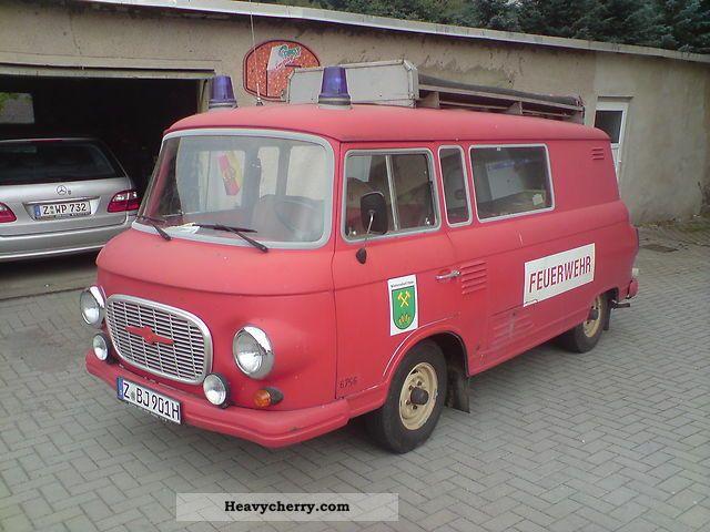 1980 Barkas  B 1000 KM / KLF Van or truck up to 7.5t Box photo