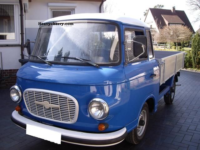 1991 Barkas  B 1000-1 Van or truck up to 7.5t Stake body photo