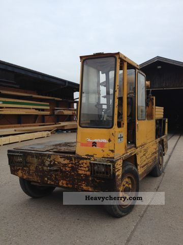 1980 Baumann  Sideloader Forklift truck Side-loading forklift truck photo