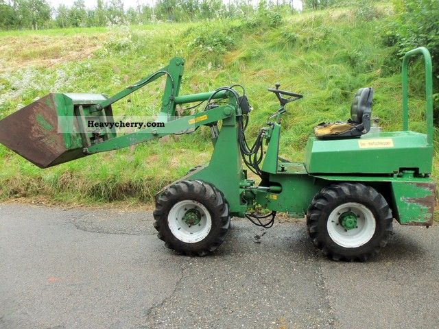 1996 Weidemann  Striegel 190 D / I Agricultural vehicle Farmyard tractor photo