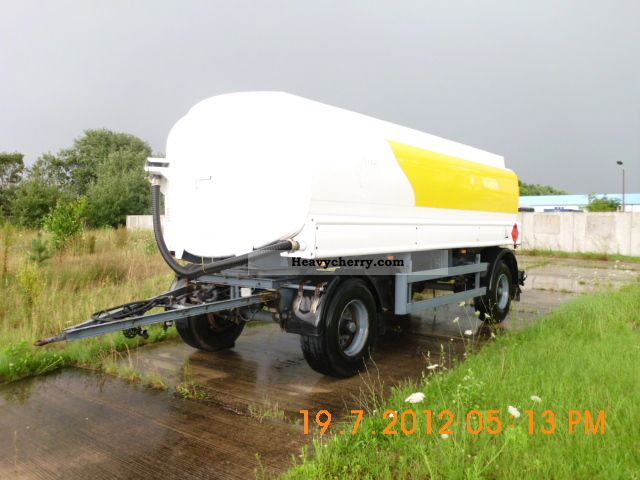 1986 Bunge  TAA 18.5 / 3 A3 Trailer Tank body photo