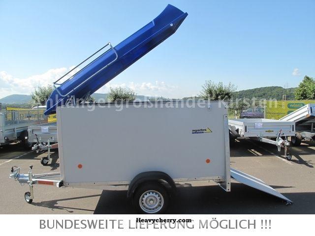 2012 Agados  VZ 26 multi + ramp + rail 750 kg hkh Trailer Box photo