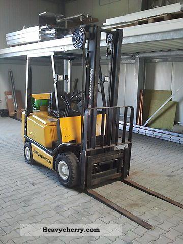 Jungheinrich truck