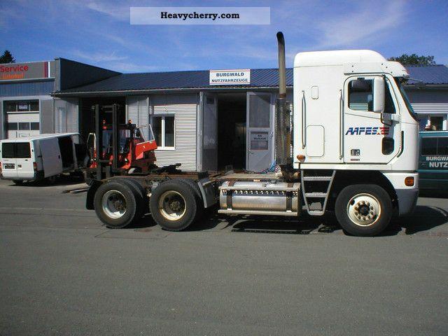 Freightliner Tractor Weight : Freightliner argosy standard tractor trailer unit
