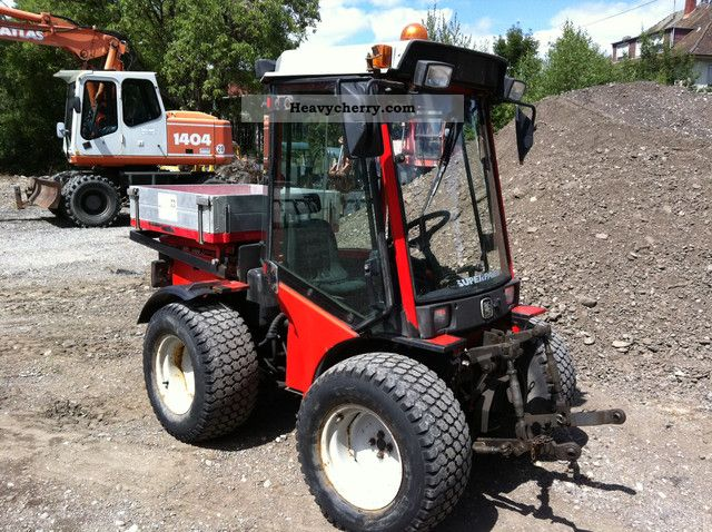 1999 Carraro  SP 4400 Super Park + HST Mower \u0026 Extraction Agricultural vehicle Tractor photo