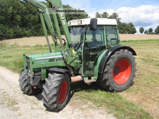1999 Fendt  280 SA Agricultural vehicle Tractor photo