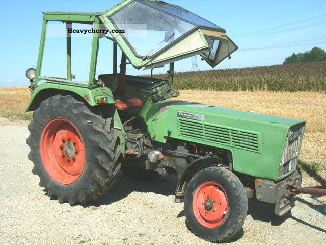1978 Fendt  103 S, for salvaging Agricultural vehicle Tractor photo