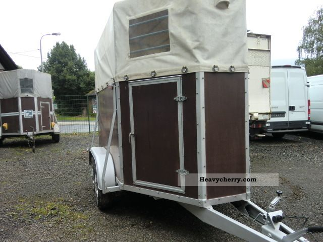 1986 Kroeger  Krämer FSPT Trailer Cattle truck photo