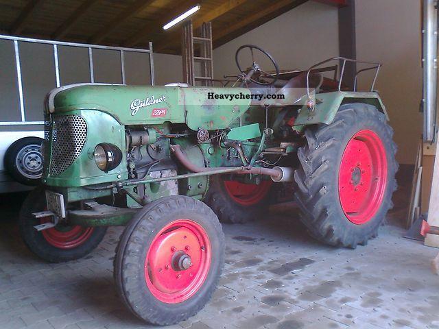 1955 Guldner  Güldner ABS 10 Agricultural vehicle Tractor photo