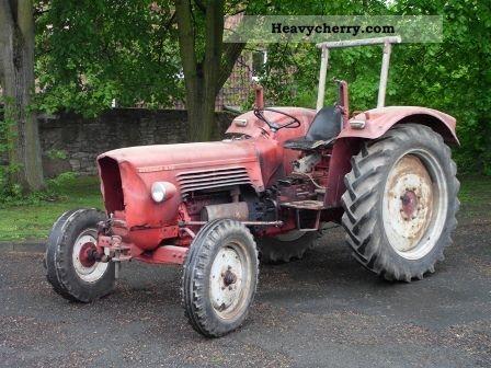 1963 Guldner  Guldner G 50 S Agricultural vehicle Tractor photo