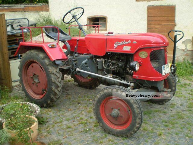 1955 Guldner  Güldner AZK8K Agricultural vehicle Tractor photo