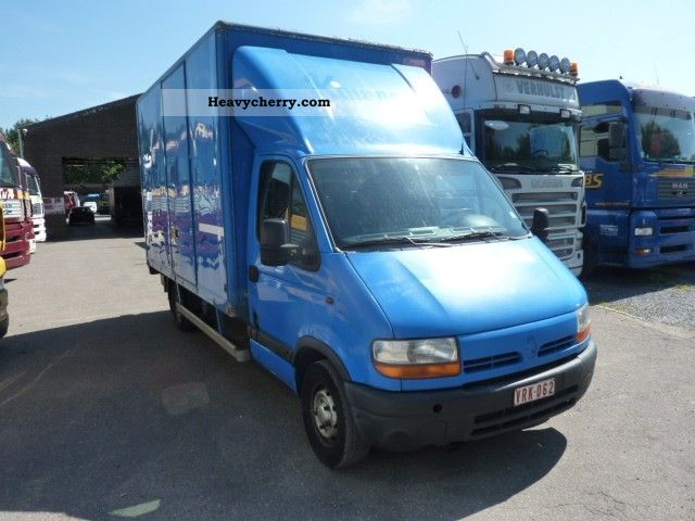 2000 Renault  Mascott 28DTI Van or truck up to 7.5t Box photo