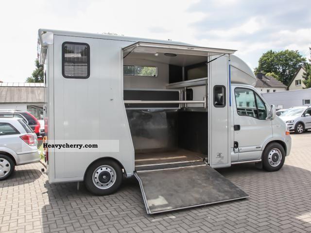 renault master 2 horse transporter air gra elekt fh 2008. Black Bedroom Furniture Sets. Home Design Ideas