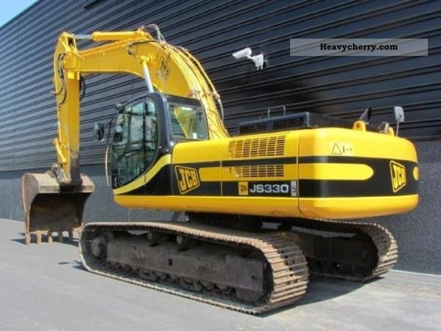 JCB JS 330 LC 2006 Caterpillar digger Construction Equipment Photo and Specs