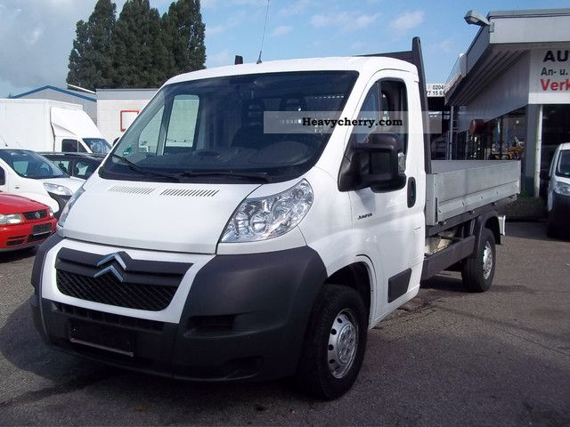 2009 Citroen  Citroen Jumper 2.2 HDI Van or truck up to 7.5t Stake body photo