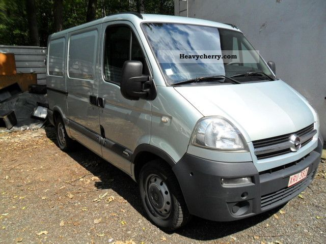 opel movano 2007 box type delivery van photo and specs. Black Bedroom Furniture Sets. Home Design Ideas