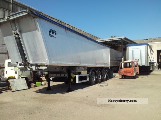 2008 Menci  Semirimorchio ribaltabile posterior - 46 Semi-trailer Tipper photo