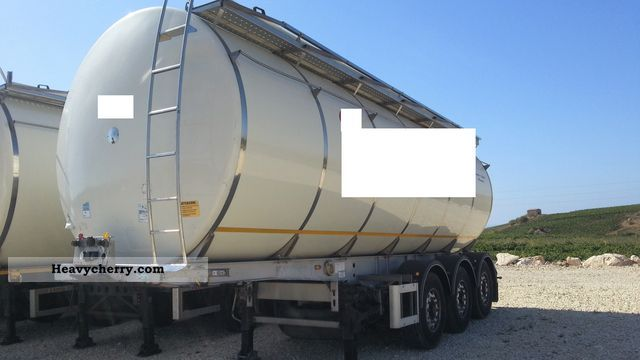 2006 Menci  SEMIRIMORCHIO CISTERNA ALIMENTARE Semi-trailer Food tank photo