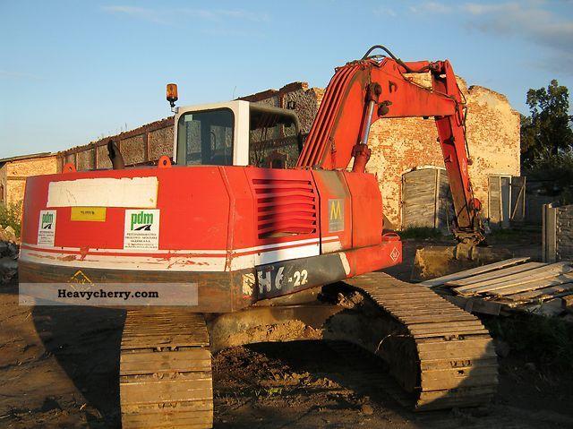 1997 O & K  O \u0026 K RH-6 kg Koparka 22000th Construction machine Caterpillar digger photo