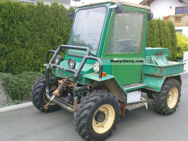 multicar mws 45 wheel 1988 agricultural tractor photo and. Black Bedroom Furniture Sets. Home Design Ideas