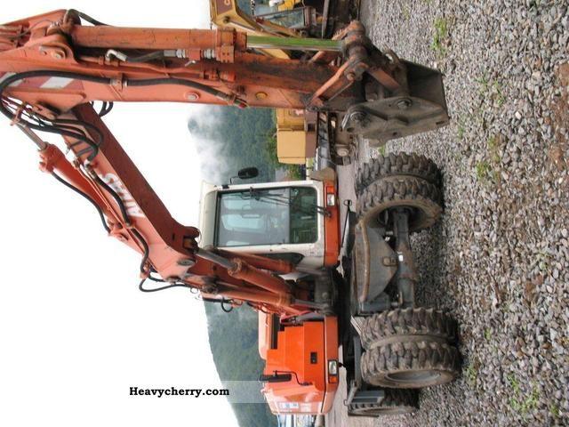 2002 Atlas  1304 M Construction machine Mobile digger photo