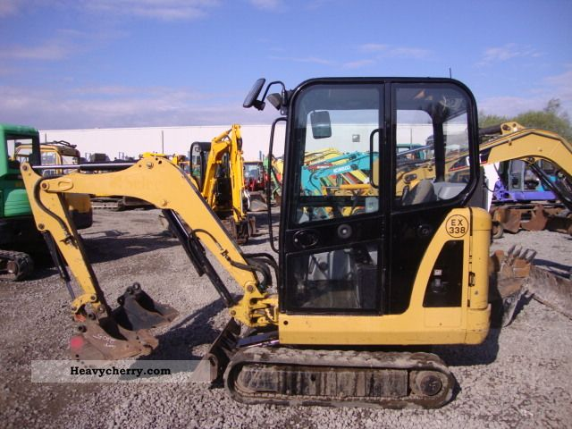 2006 CAT  301.6C Construction machine Mini/Kompact-digger photo