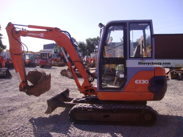 2002 Hitachi  ex30 Construction machine Mini/Kompact-digger photo