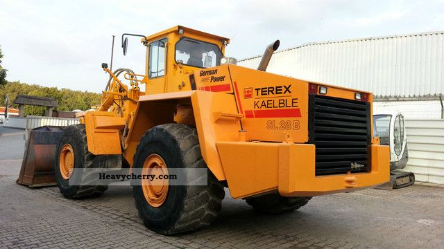 2003 Terex  Kaelble SL28B 32t. 5,1 m³ bucket + Libra nur5900bs Construction machine Wheeled loader photo